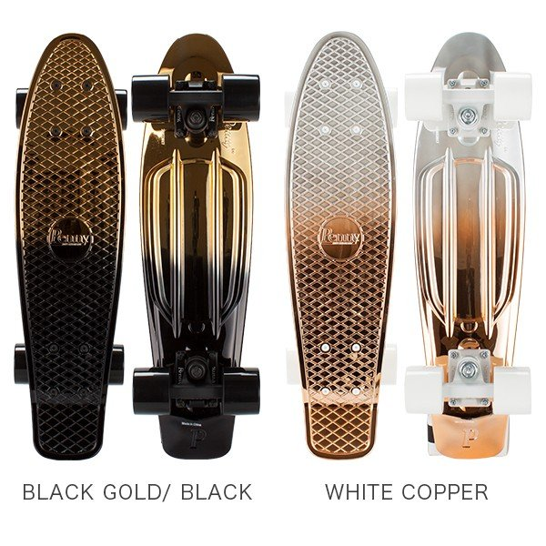 ペニースケートボード Penny Skateboards スケートボード 22インチ METALLIC FADESシリーズ PNYCOMP ミニクルーザー コンプリート フェード おしゃれ ★