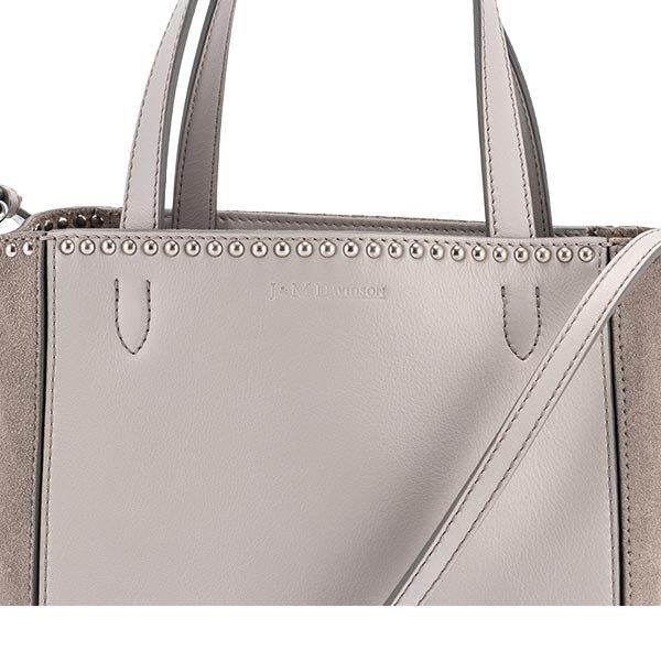 【全品5%OFFクーポン コードglv】ジェイ&エムデヴィッドソン J&M Davidson トートバッグ ベル ミニ 1867N/7314 Bags MINI BELLE W STUDS バッグ カバン レザー レディース ★