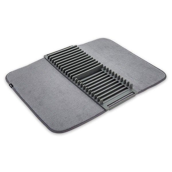 アンブラ Umbra 水切りラック ユードライ ドライングマット 水切りマット 折りたたみ キッチン 吸水マット 330720 Udry Drying Mat