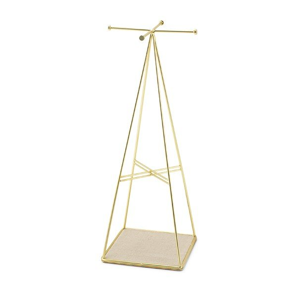 アンブラ Umbra アクセサリースタンド プリズマ ジュエリースタンド 299485-221 マットブラス Prisma Jewelry Stand Matte Brass