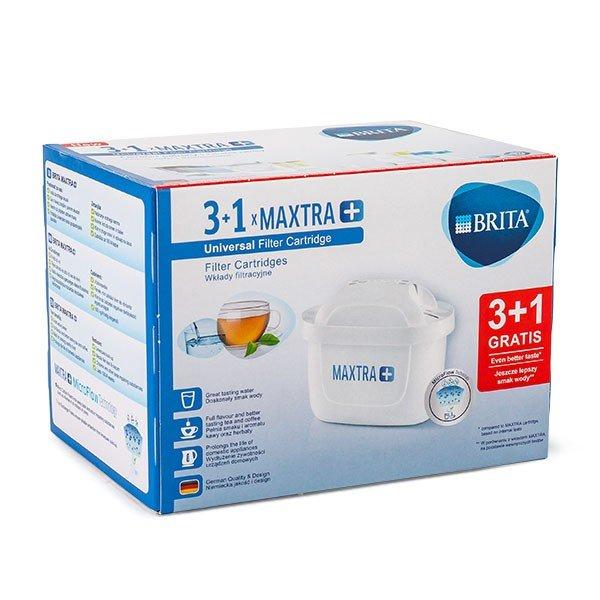 ブリタ Brita マクストラプラス カートリッジ 4個セット 4006387075262 Maxtra Plus 4 浄水器 整水器 交換フィルター ★