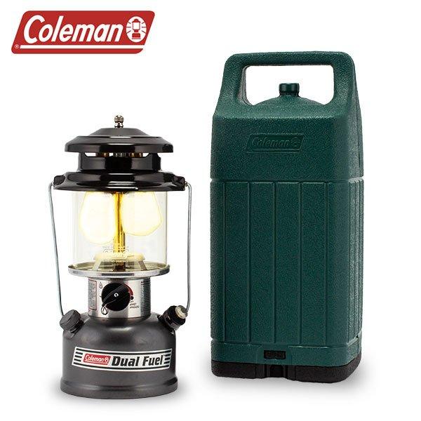 コールマン Coleman ランタン ツーマントル デュアルフューエル ランタン ケース付 3000004257 野外 アウトドア キャンプ 照明 ライト ★