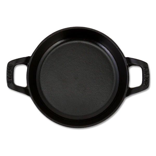 ストウブ 鍋 Staub ラウンド スタッカブルディッシュ 16cm グラタン皿 IH対応 ホーロー おしゃれ オーブン皿 Round Stackable Dish 母の日 ★