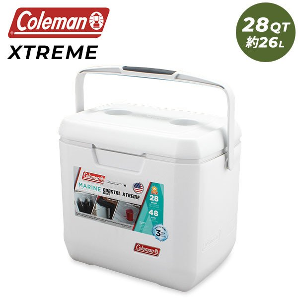 コールマン Coleman クーラーボックス 28QT COASTAL XTREME SERIES MARINE COOLER コースタル エクストリーム シリーズ マリン クーラー ★