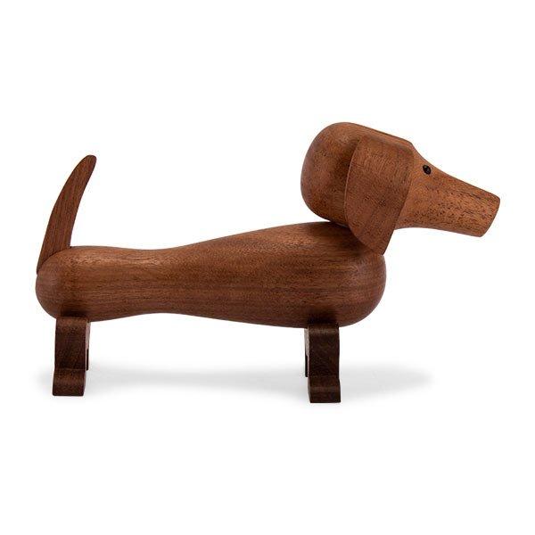 KAY BOJESEN カイ ボイスン ドッグ イヌ 木のオブジェ 木製玩具 ローゼンダール ROSENDAHL Dog walnut 39201  ★