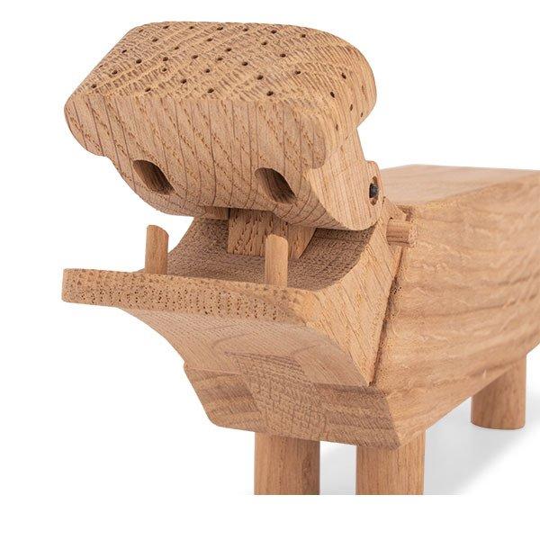 KAY BOJESEN カイ ボイスン ヒッポ・カバ 木のオブジェ 木製玩具 ローゼンダール ROSENDAHL Hippo oak 39202  ★