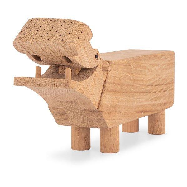 【全品5%OFFクーポン コードglv】Rosendahl ローゼンダール ヒッポ・カバ 木のオブジェ 木製玩具 Kay Bojesen Hippo, oak 39202 ★