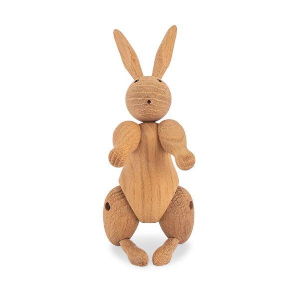 KAY BOJESEN カイ ボイスン ラビット・ウサギ 木のオブジェ 木製玩具 ローゼンダール ROSENDAHL Rabbit oak 39203  ★