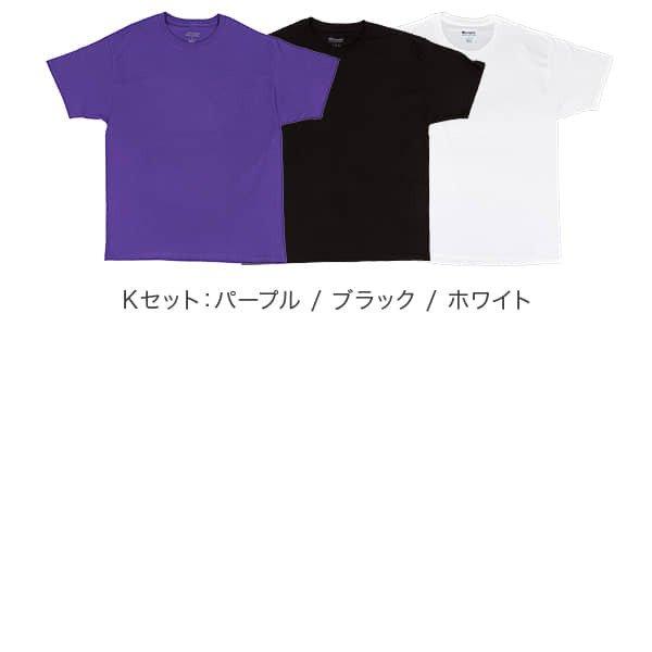 チャンピオン Tシャツ 3枚セット チャンピオン Champion メンズ レディース 半袖 シンプル 無地 T425 クルーネック Uネック ロゴ ワンポイント ゆったり USAモデル ★