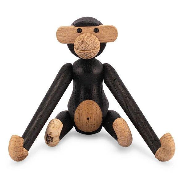 カイ ボイスン KAY BOJESEN モンキー ミニ 木製 オブジェ ローゼンダール ROSENDAHL 39276 ブラック Monkey mini 北欧 雑貨 インテリア ★