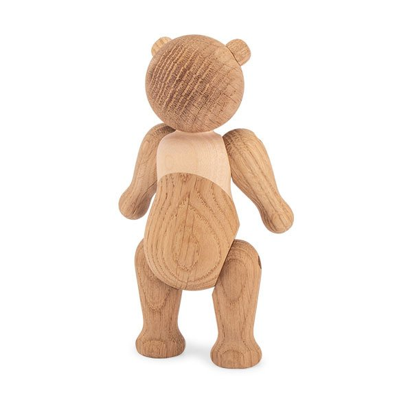 【全品5%OFFクーポン コードglv】Rosendahl ローゼンダール ベアー (クマ) 木のオブジェ 木製玩具 Kay Bojesen Bear, oak/maple 39251 ★