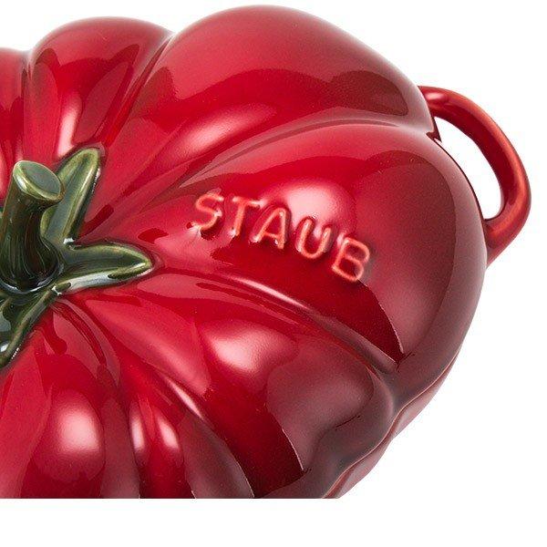 売り尽くし ストウブ Staub セラミック トマトココット食器19cm Ceramica Cocotte Tomate ホーロー キッチン用品 40511-855 チェリー Cherry 新生活