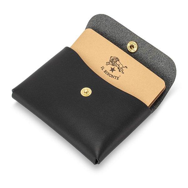イルビゾンテ Il Bisonte 名刺入れ カードケース C0855 P CARD CASE レザー 革 定期入れ プレゼント キャッシュレス ★