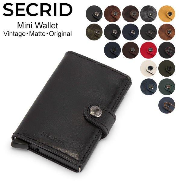 セクリッド シークリッド Secrid ミニウォレット Mini Wallet 財布 レザー 871821528 カードケース パスケース 革 メンズ レディース キャッシュレス ★