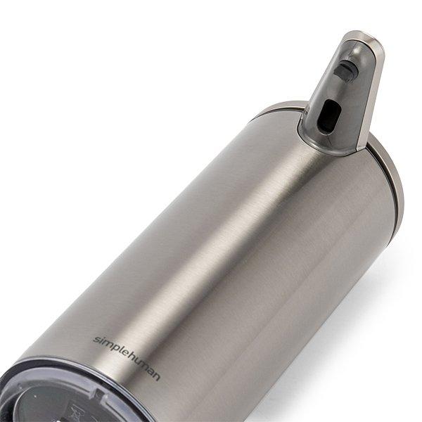 シンプルヒューマン simplehuman ソープディスペンサー 1年保証 充電式 センサーポンプ 自動 オート ディスペンサー 防水 ST104 キッチン ★