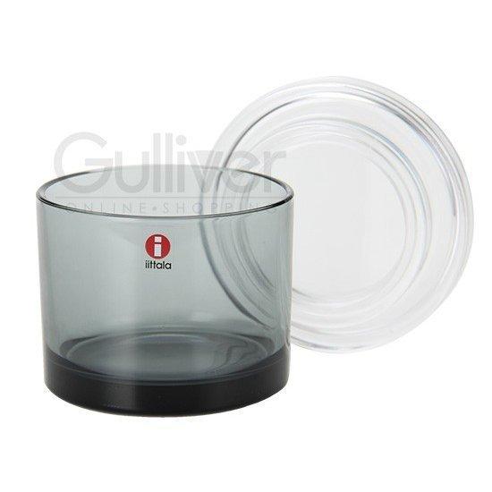イッタラ ジャー ジャー 8 x 6.5 cm 80 65mm 北欧 インテリア 食器 デザイン お洒落グレー 1007384 iittala jar grey 新生活