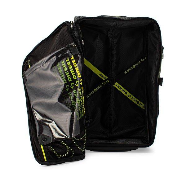 サムソナイト SAMSONITE スーツケース ディーゼル コラボ ダッフルオンホイールバックパック 128564 Paradiver Light x Diesel DUFFLE / WH ★