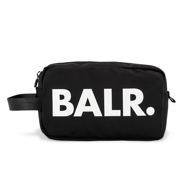 【全品5%OFFクーポン コードglv】ボーラー BALR ポーチ バッグインバッグ B10033 ブラック メンズ レディース ナイロン ロゴ ブランド U-Series Toiletry Kit Black ★
