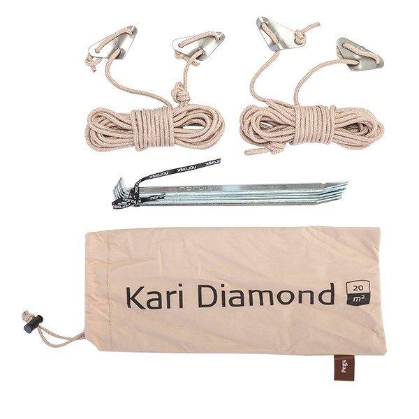 ノルディスク タープ レガシー カーリ ダイヤモンド20 キャンプ アウトドア 北欧 山 142009 NORDISK Legacy Tarps Kari Diamond 20 ★