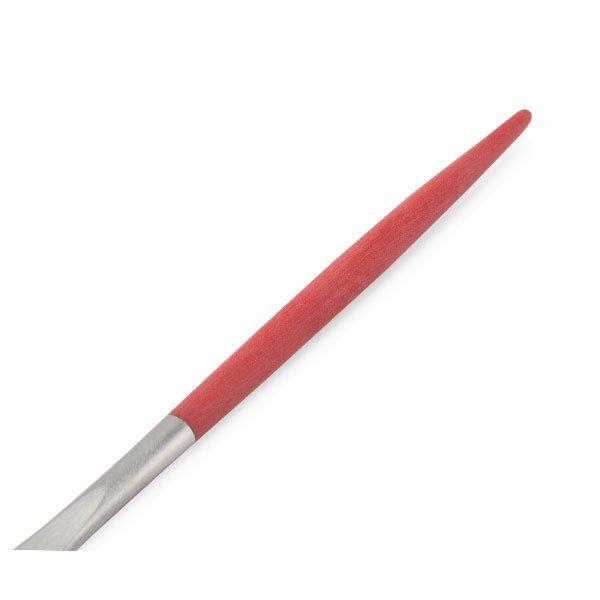 【全品5%OFFクーポン コードglv】クチポール Cutipol GOA ゴア デザートナイフ レッド Dessert knife Red Stainless ステンレス カトラリー
