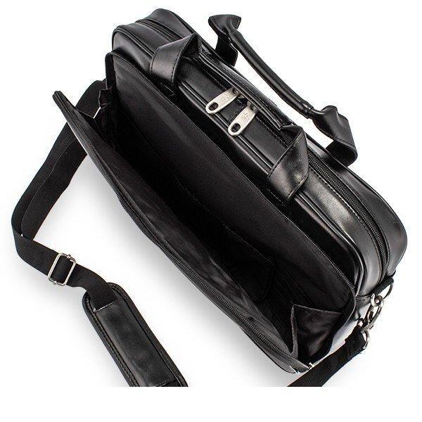 SAMSONITE サムソナイト Leather Business レザービジネス Leather Slim Brief レザー スリム ラップトップ ブリーフケース Black ブラック 48073-1041 ビジネスバッグ パソコンケース ブリーフケース ★