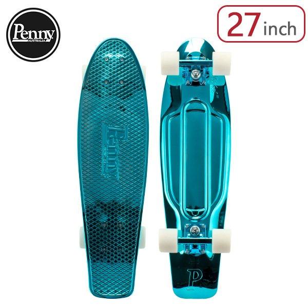ペニー スケートボード Penny Skateboards スケボー 27インチ METALLIC SOLID メタリックソリッド PNYCOMP27411 Blue Metallic スポーツ アウトドア ストリート ★
