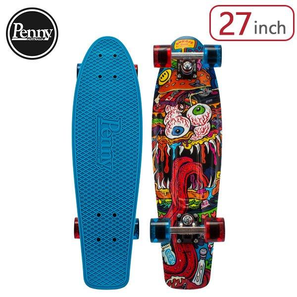 ペニー スケートボード Penny Skateboards スケボー 27インチ BURGER RECORDS コラボ モデル PNYCOMP27446 Burger Monster CRUSIER コンプリート おしゃれ ★