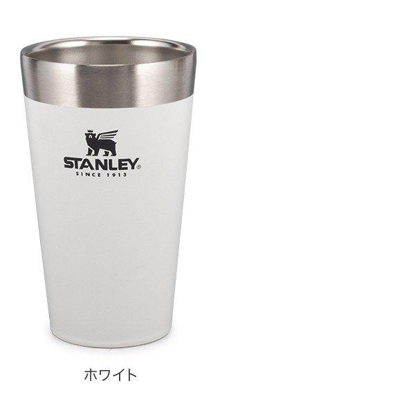 スタンレー Stanley スタッキング真空パイント 0.47L タンブラー 10-02282 Adventure Stacking Beer Pint 16OZ ステンレス 保冷 保温 ★