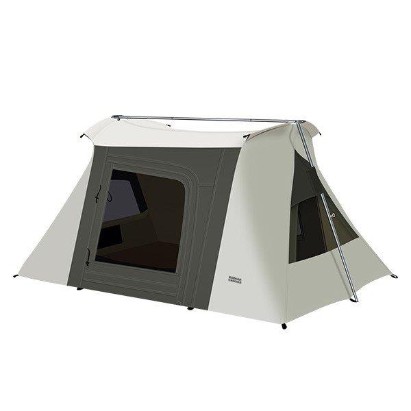 コディアックキャンバス Kodiak Canvas コットンテント 2人用 6086 Flex-Bow VX Canvas Tent テント キャンプ アウトドア 防水 おしゃれ ★