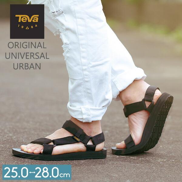 テバ TEVA サンダル メンズ オリジナル ユニバーサル アーバン M ORIGINAL UNIVERSAL URBAN ブラック 1004010 テヴァ スポーツサンダル 靴 アウトドア ストラップ ★