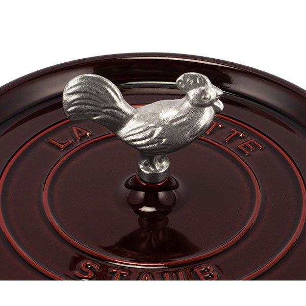 ストウブ Staub アニマルノブ 鍋のツマミ かわいい おしゃれ 取っ手 持ち手 鍋 アクセサリー ノブ Animals Knob 動物 アニマル 母の日