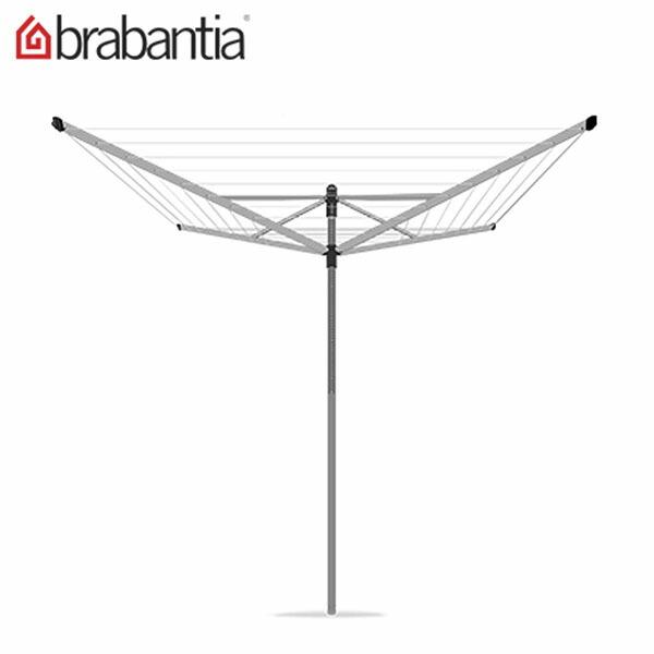 Brabantia ブラバンシア 洗濯物干し Lift-O-Matic 40 metres ロータリードライヤー Silver シルバー 310928 ★