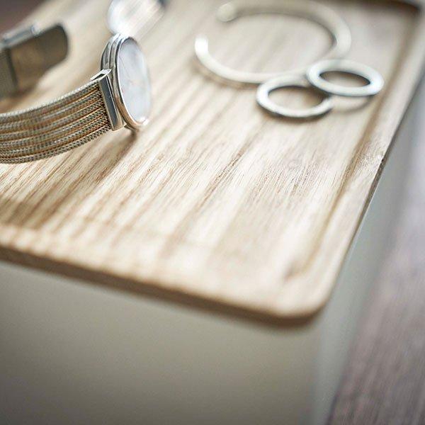 サングラス&アクセサリー収納ケース リン RIN 小物入れ メガネ 収納 プライウッド 小物 おしゃれ シンプル アクセサリーケース 山崎実業