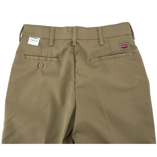 レッドキャップ Red Kap ワークパンツ 2タック 2プリーツ PT32 PLEATED WORK PANT ズボン チノパン ロング ワーク パンツ ボトムス メンズ ★