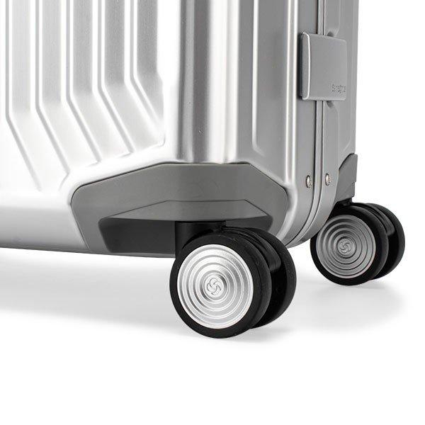 サムソナイト Samsonite スーツケース 40L ライトボックス アル スピナー 55cm 機内持ち込み 122705.0 Lite-Box Alu ★
