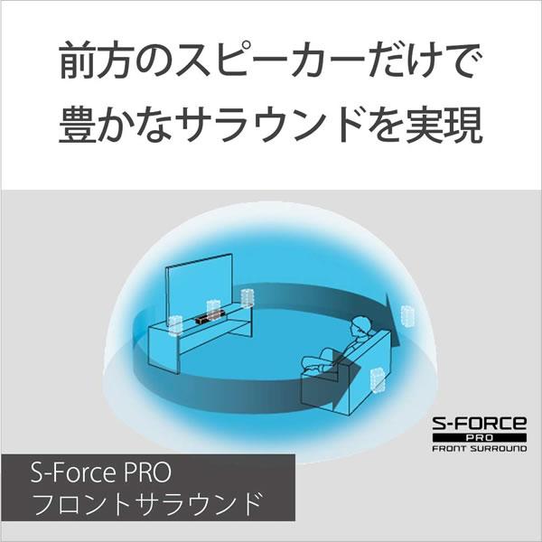 [予約]送料無料(北海道・沖縄・離島除く)■HT-S200F-W ソニー サウンドバー 2.1ch 内蔵サブウーファー Bluetooth ホームシアターシステム クリームホワイト