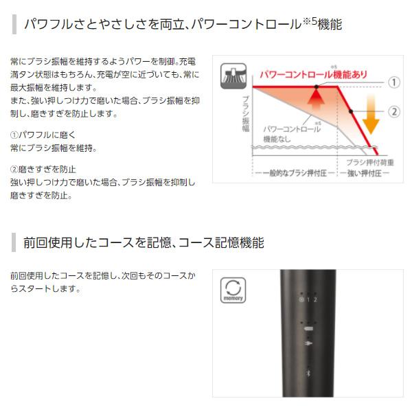 在庫僅少 送料無料(北海道・沖縄・離島除く)■パナソニック 電動歯ブラシ Bluetooth搭載 W音波振動ハブラシ ドルツ 黒 EW-DT51-K