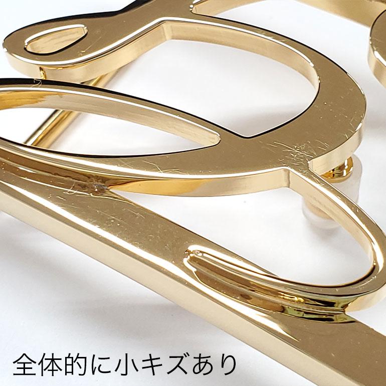 【アウトレット】ジョルジオスタメッラ バックルのみ トップ式バックル Gロゴバックル メンズ ブラス100% アルチェ用 幅3.5cm用 FBM GLB1 35 ゴールド 保証対象外