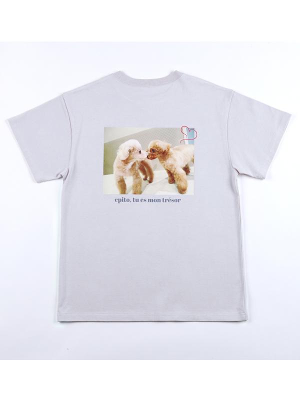 クピトフォトユニセックスTシャツ
