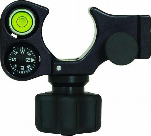 [特価商品]32mmポール用クランプ [5200-155]コンパス・40分水準器付