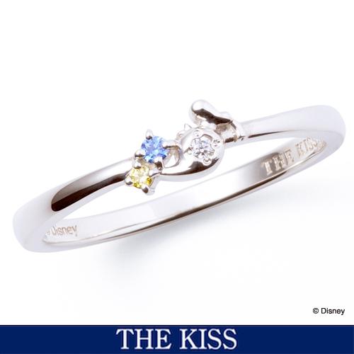 【ディズニー】THE KISS ドナルド リング 指輪 レディース アクセサリー DI-SR1820CB 【Disney】