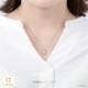シルバニアファミリー グッズ ネックレス くるみリスの男の子 ネックレス K18ホワイトゴールド