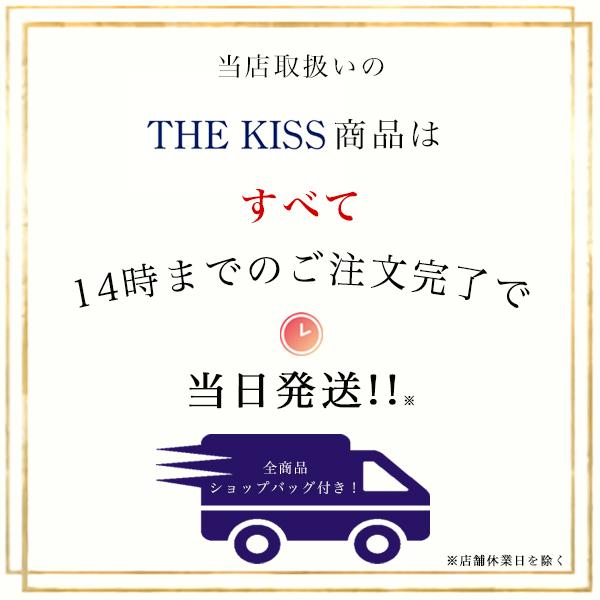 【ディズニー】THE KISS ミッキーマウス ペアネックレス DI-SN1849DM-1850DM 【Disney】