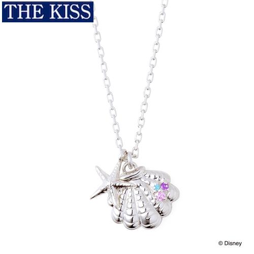ディズニー プリンセス アリエル ネックレス Disney THE KISS ザ・キッス プレゼント DI-SN800CB