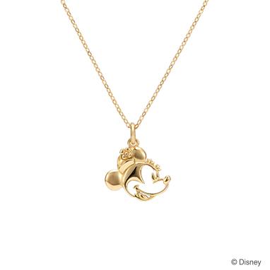【ディズニー】ケイウノ friends of smiling  〜フレンズ オブ スマイリング -ミニーマウス-〜 ネックレス【Disney】