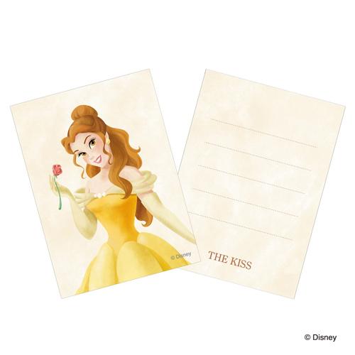ディズニー プリンセス 美女と野獣 ベル 薔薇 ネックレス Disney THE KISS ザ・キッス プレゼント DI-SN1402CB