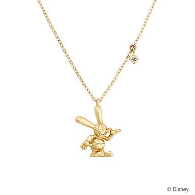 【ディズニー】ケイウノ Oswald the Lucky Rabbit  〜オズワルド-ネックレス-〜 【Disney】