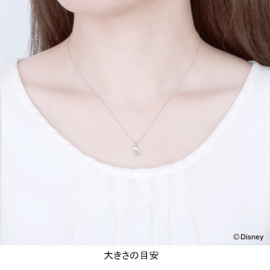 【ディズニー】ケイウノ riends of smiling  〜フレンズ オブ スマイリング -ドナルド-〜 ネックレス【Disney】