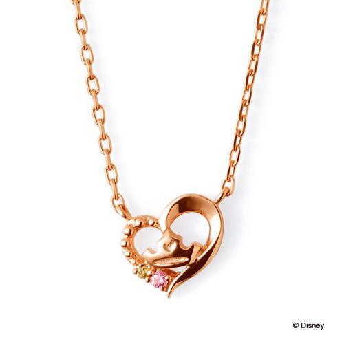 【ディズニー】THE KISS オーロラ姫 眠れる森の美女 ネックレス DI-SN1814CB 【Disney】