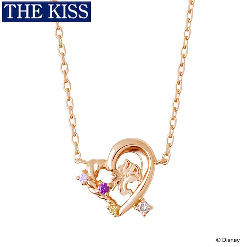 【ディズニー】THE KISS ラプンツェル ネックレス【Disney】
